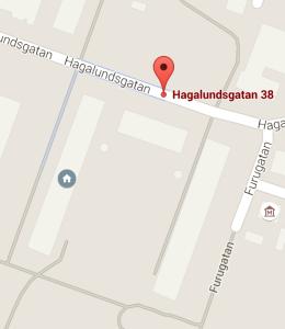 Hagalundsgatan 38 karta